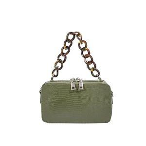 Demi Olive Top Handle Bag